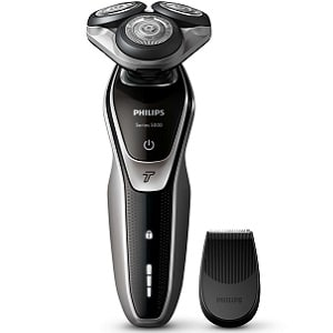 Philips S5320-06,accessori,lame, batteria,ricarica