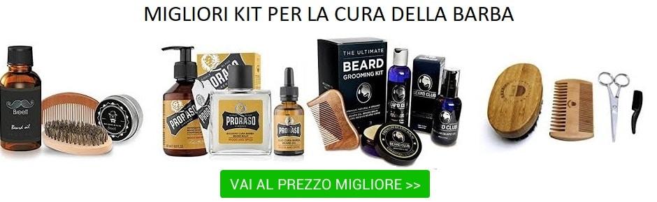 migliori kit per la cura della barba,prezzo